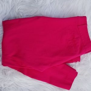 Pink Sz 6 J. CREW Stretch Pants